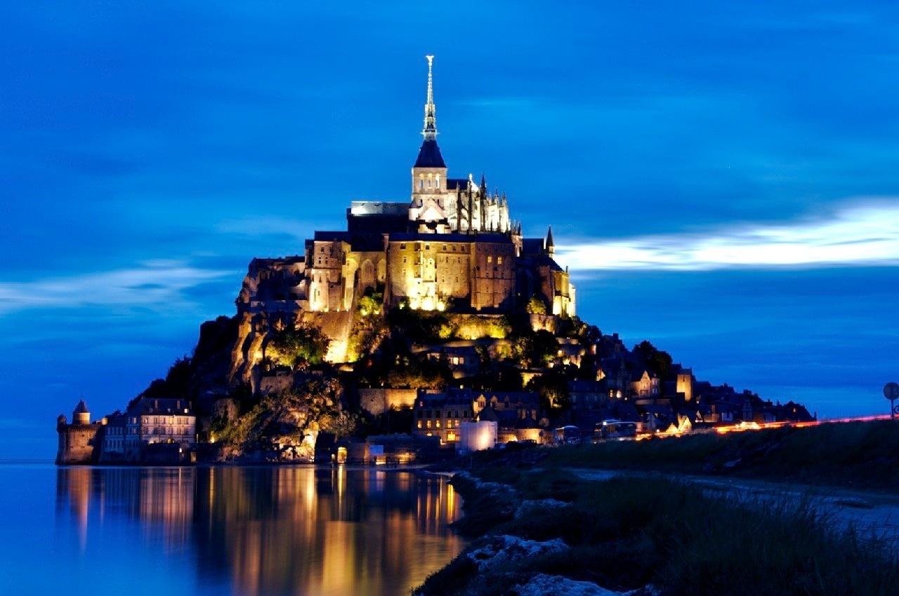 Αποτέλεσμα εικόνας για Mont Saint-Michel, Γαλλία