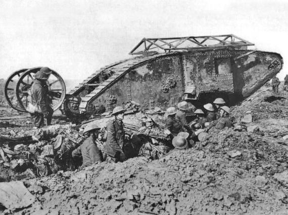 15/09/1916: Η πρώτη εμφάνιση των τανκς!!